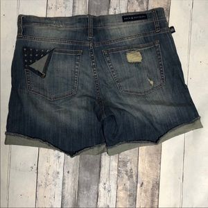 Rock & Republic Bumpershoot Star Studded Shorts